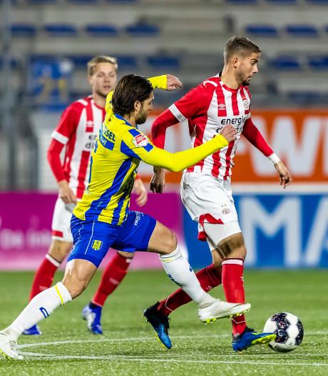 RKC kansloos tegen echte B-team PSV: 3-5