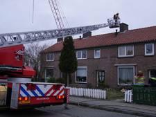 Brandweer blust schoorsteenbrandje in Arnhem