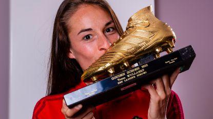 """Tessa Wullaert krijgt haar tweede Gouden Schoen (en wil er nóg): """"Wil tien keer winnen. Of twintig!"""""""