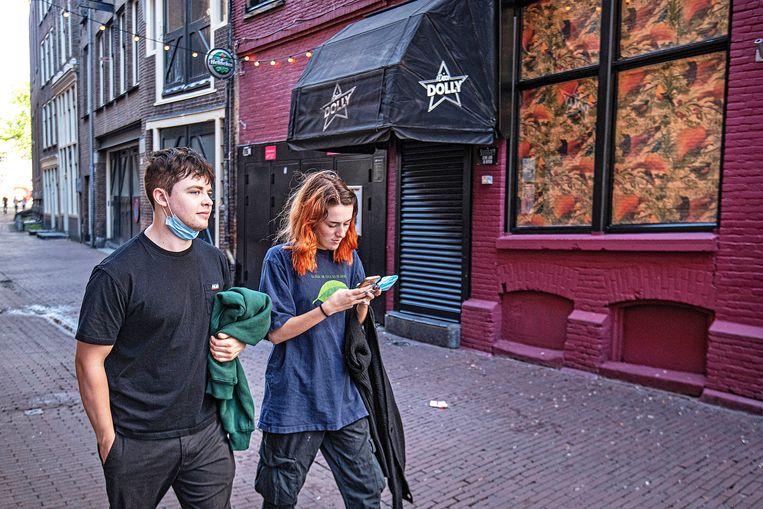 Disco Dolly in Amsterdam. Beeld Guus Dubbelman / de Volkskrant
