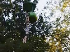 Meisje overleeft val uit 7 meter hoge pretpark-attractie