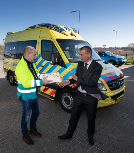 Urk knokt voor behoud tweede ambulance: 'We liggen excentrisch'