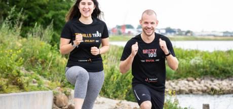 Danny rent monstertocht voor zieke vriendin: 'Als je tien kilometer kan, kun je dit ook'