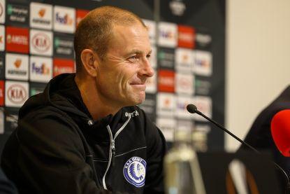 """Thorup gelooft in kansen van AA Gent tegen Wolfsburg: """"Zijn van niemand bang"""""""