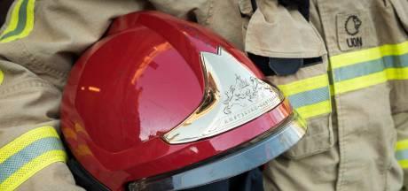 Omstander gewond bij containerbrand in Papendrecht