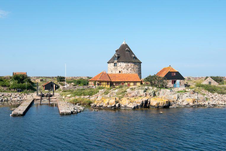 Het kleine Christiansø, een van de 'erwt-eilanden' bij Bornholm Beeld Eric Lange