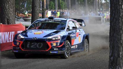 Neuville klokt tweede tijd in eerste proef Rally van Finland