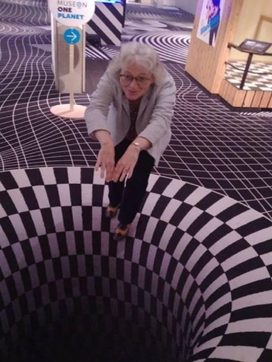 Marie Christine van der Sman, directeur van het Museon.