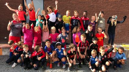 Leerlingen GO! De Tandem komen in sportoutfit naar school