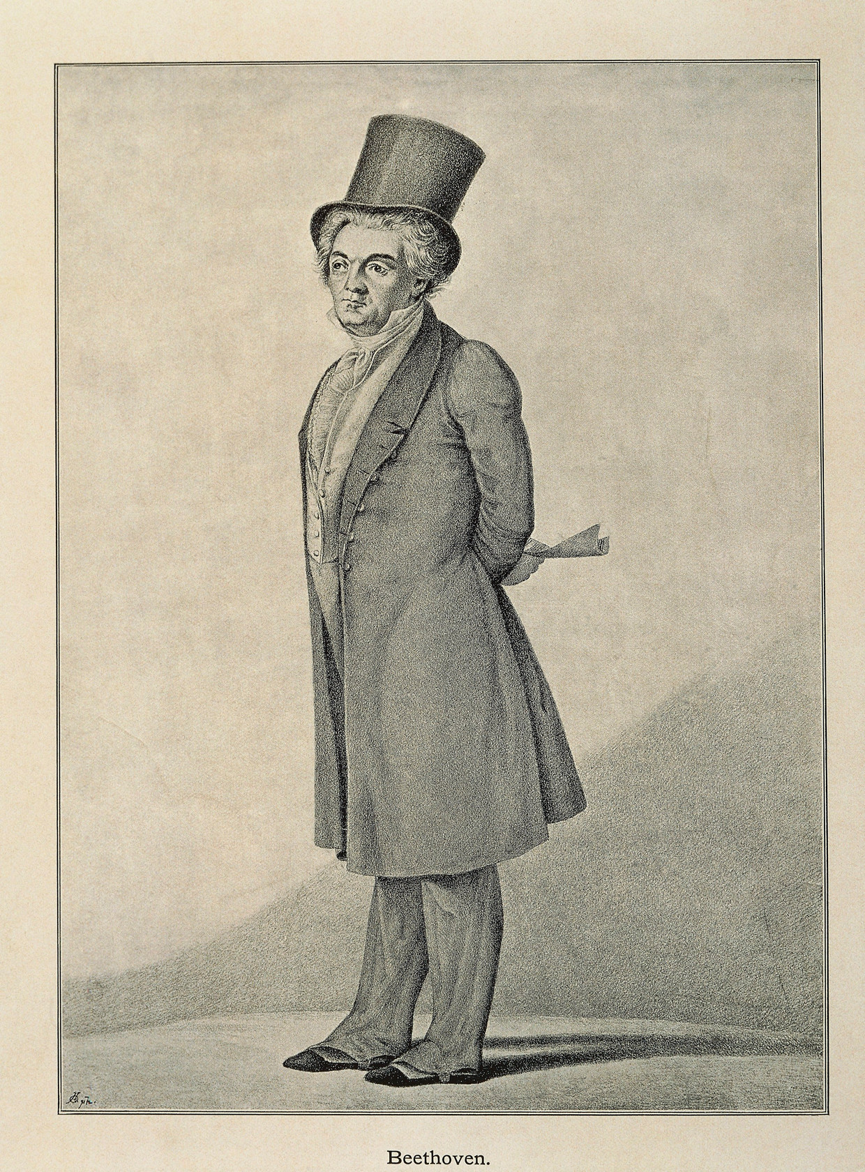 Portret van de Duitse componist Ludwig van Beethoven (1770-1827). Beeld De Agostini via Getty Images
