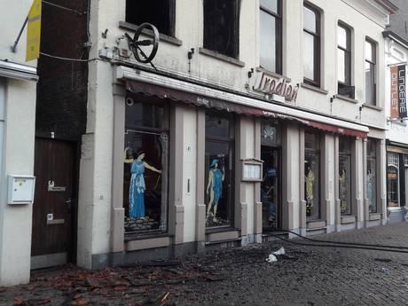 Eigenaar door brand getroffen Grieks restaurant Irodion in Roosendaal: 'Hopen dat het meevalt'