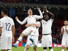 La France, victorieuse en Albanie, termine en tête du groupe H devant la Turquie