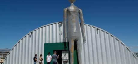 Eerste UFO-gelovers verzamelen zich voor 'bestorming' van geheime Area 51
