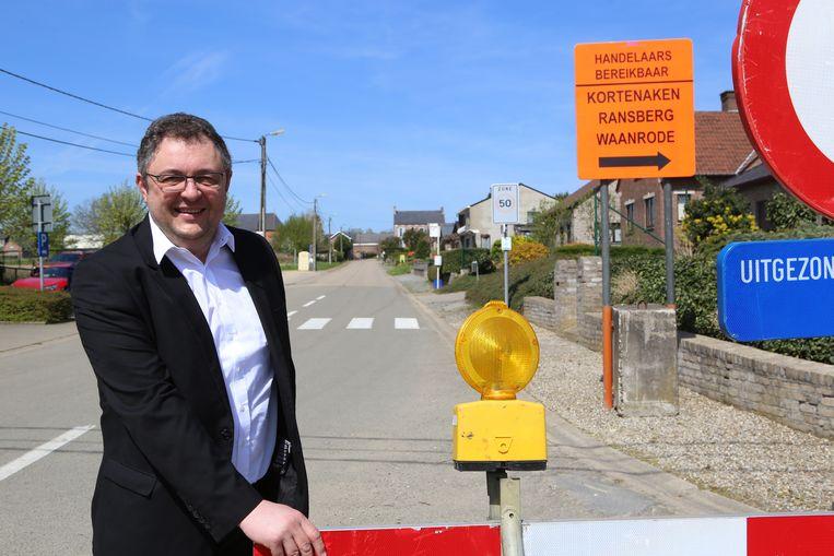 KORTENAKEN-burgemeester en nieuw mobiliteitsplan