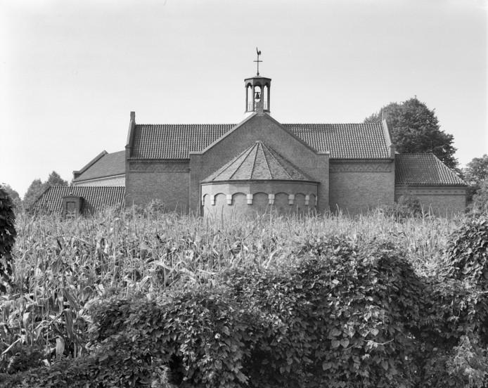 Het inmiddels gesloopte klooster in Almelo