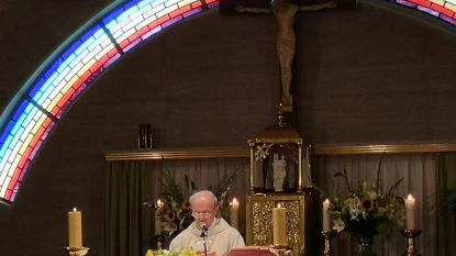 Parochie viert vijftig jaar pastoor André Van Duyse