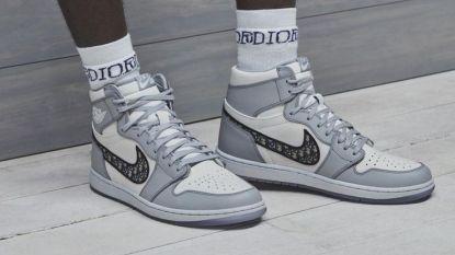 Nike en Dior tonen exclusieve sneaker