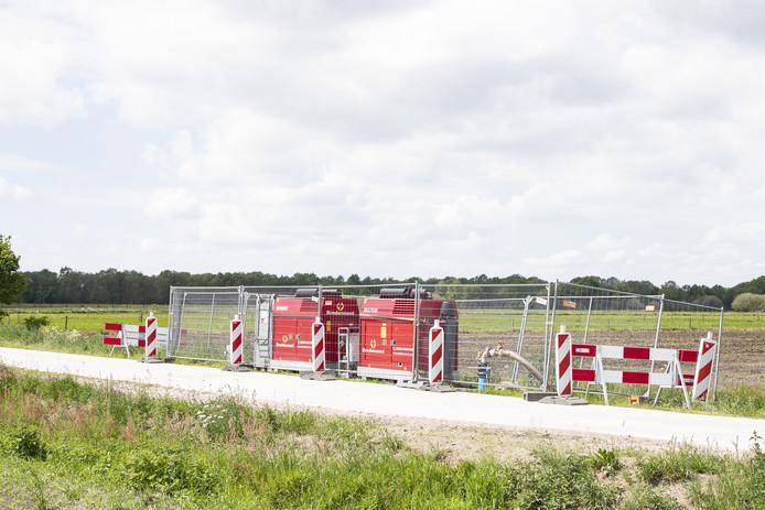 In Vriezenveen is al onderzocht of er voldoende grondwater in de grond zit.