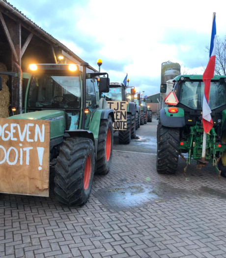 Boze boeren willen voorlopig niet meer overleggen met minister Schouten