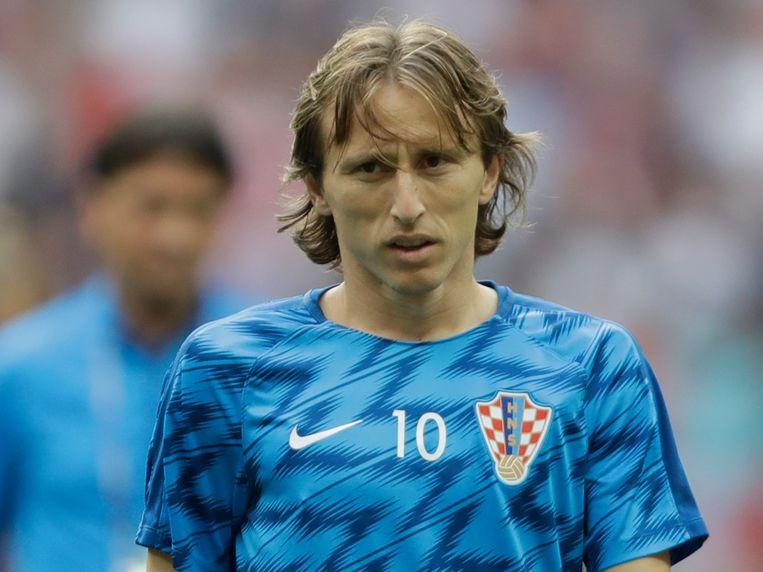 Luka Modric Beeld AP