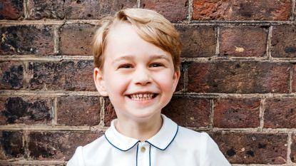 Prins George (5) mocht voor het eerst mee op jacht