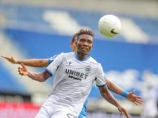 L'attaquant de Bruges David Okereke testé positif au Covid-19