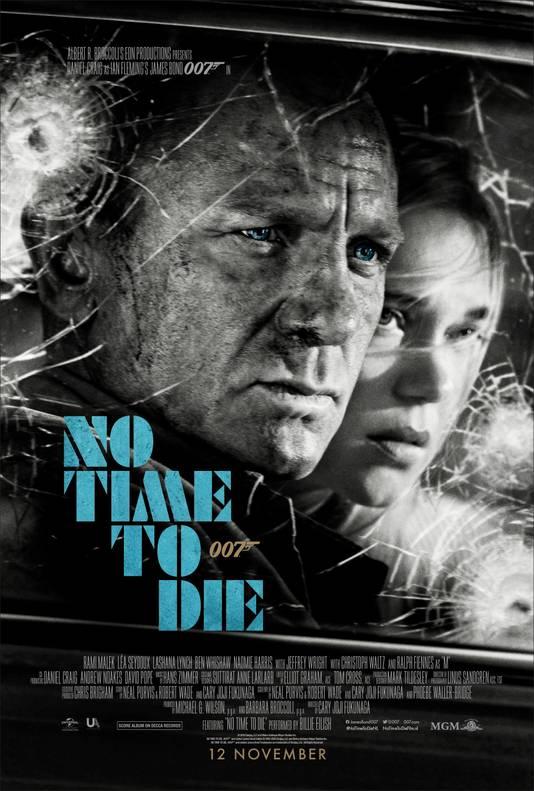 De première van de James Bond-film No Time To Die is doorgeschoven naar volgend jaar.