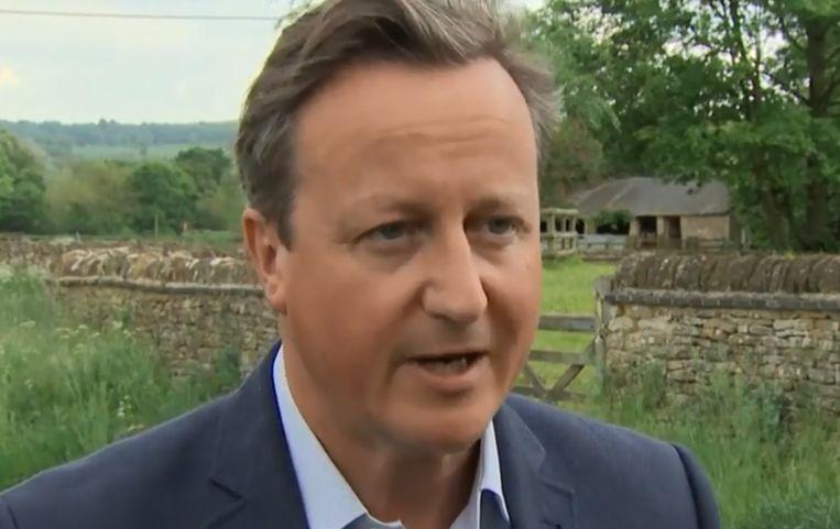 David Cameron was van 2010 tot 2016 premier van het Verenigd Koninkrijk.