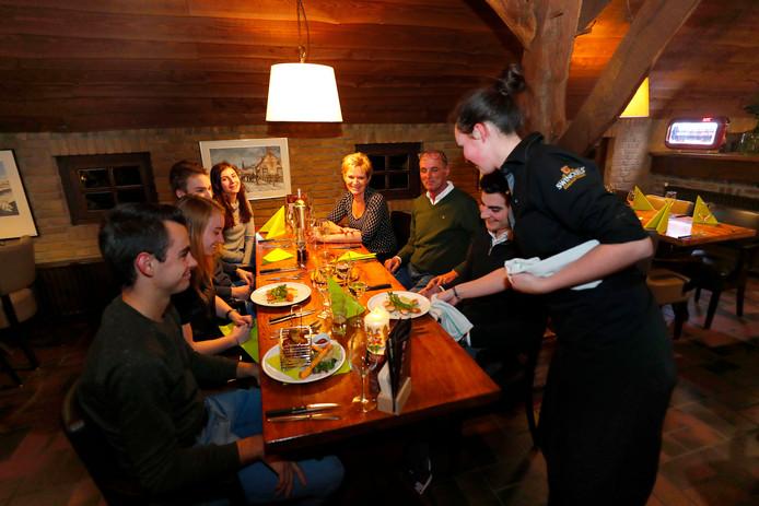 Restaurant Smaeckvol was eeuwenlang een boerderij en dat is nog goed te zien.