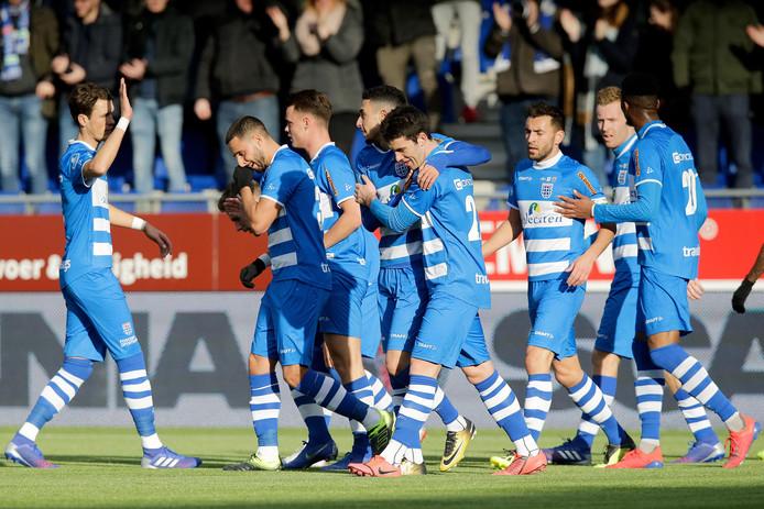 Welke speler van PEC Zwolle was de beste van het seizoen?