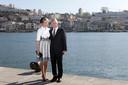 Het koningspaar heeft het driedaagse staatsbezoek aan Portugal woensdag afgesloten in de stad Porto.