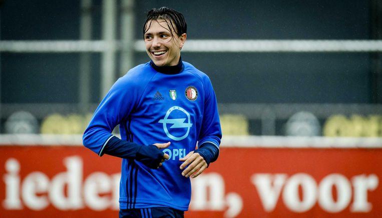 Steven Berghuis is terug op Nederlandse bodem, bij Feyenoord Beeld anp