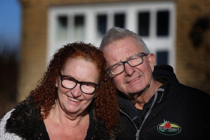Boer Geert en zijn vriendin Geertje.