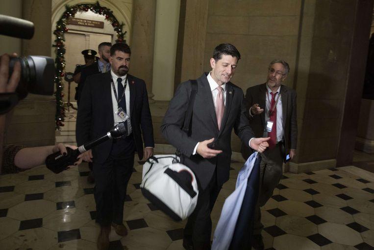 Voorzitter van het Huis van Afgevaardigden, Paul Ryan.