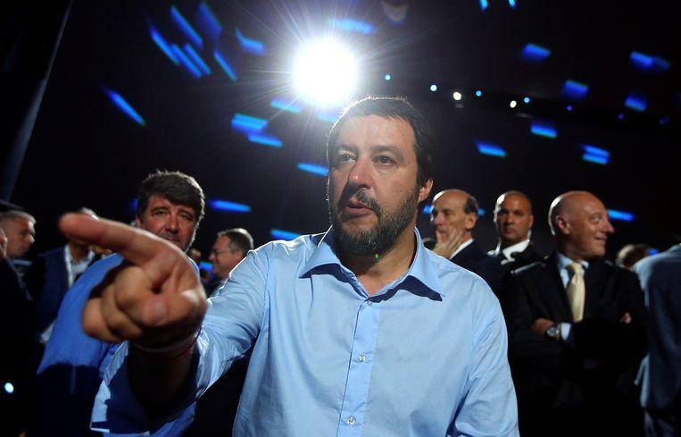 Matteo Salvini, leider van Lega Nord. Beeld REUTERS