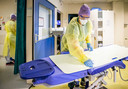 Zorgmedewerksters op de intensive care.