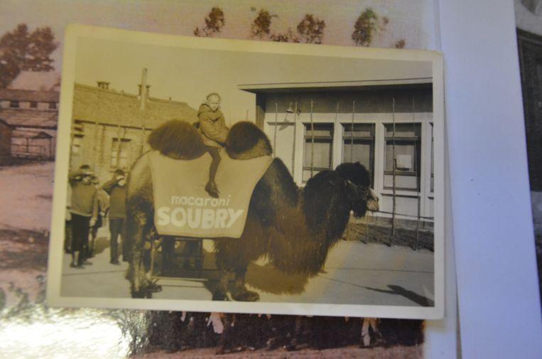 Een foto uit de beginperiode van het Rozenschooltje in de jaren 60.
