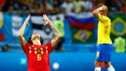 Nu is het hek helemaal van de dam! België rolt Neymar en Brazilië huiswaarts na epische partij