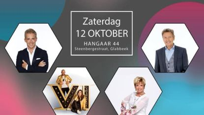 Schlagerfestival met topaffiche in nieuwe evenementenhal Hangaar 44