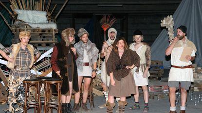 Vikingen op de planken voor het goede doel