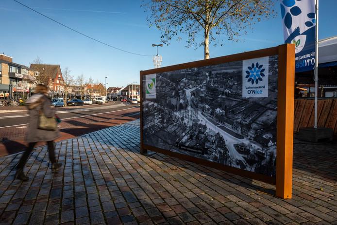 In hartje Valkenswaard staan veertien billboards die een stukje historie van het dorp laten zien.