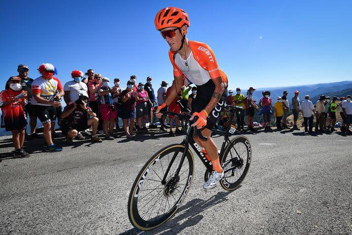 Alessandro De Marchi, nog rijdend voor CCC Team, tijdens de zesde etappe van de Tour de France.