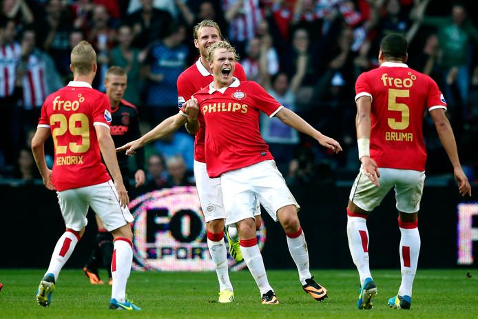 Oscar Hiljemark was in 2013 trefzeker tegen Ajax.