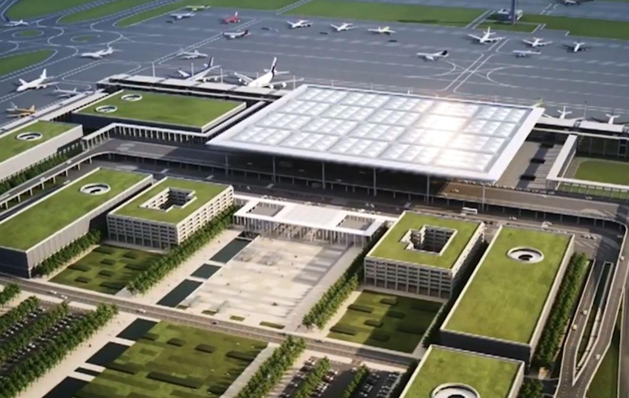 De bouw van de luchthaven Berlin Brandenburg Willy Brandt is een enorm hoofdpijndossier voor Duitsland.