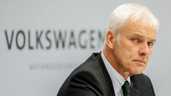 Volkswagen-topman Matthias Müller.