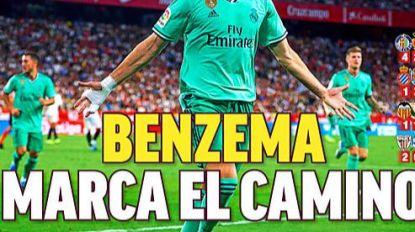 Zo groot was de euforie in de kleedkamer van Real: Hazard krijgt knuffel van Sergio Ramos