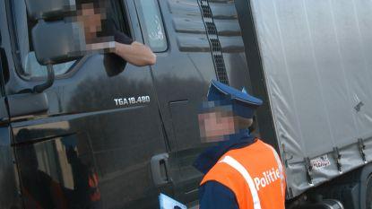 Truckers beboet omdat ze rij- en rusttijden niet respecteerden