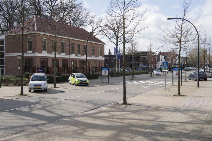 Grensovergang bij Glanerbrug.