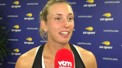 """Mertens zit in 1/8ste finales US Open: """"Op papier ben ik de favoriet tegen Ahn"""""""