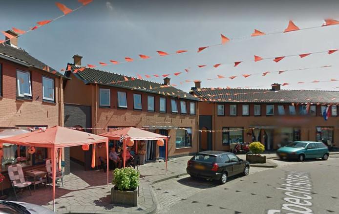 Spechtstraat in oranjesfeer